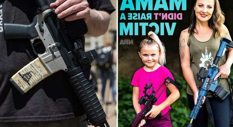 NRA Accused of Using Children as Prop in Mother's Day Ad