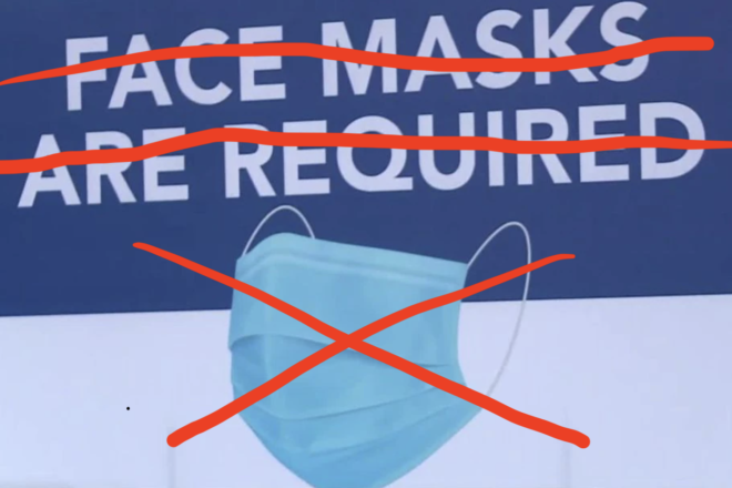 Mask Mandate Lifted for Those Fully Vaccinated