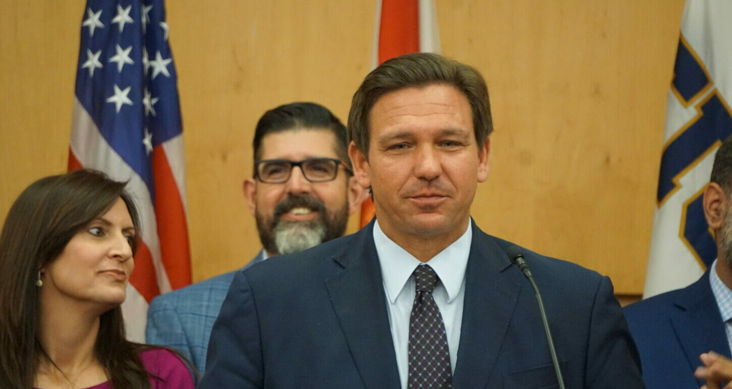 DeSantis Says Critical Race Theory Teaches Kids that 'America is a Rotten Place'