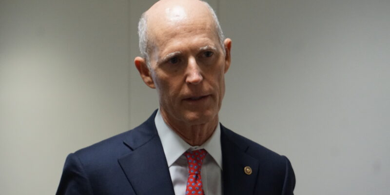 Rick Scott Says Apple Fails to Defend American Freedoms, Sells out to China
