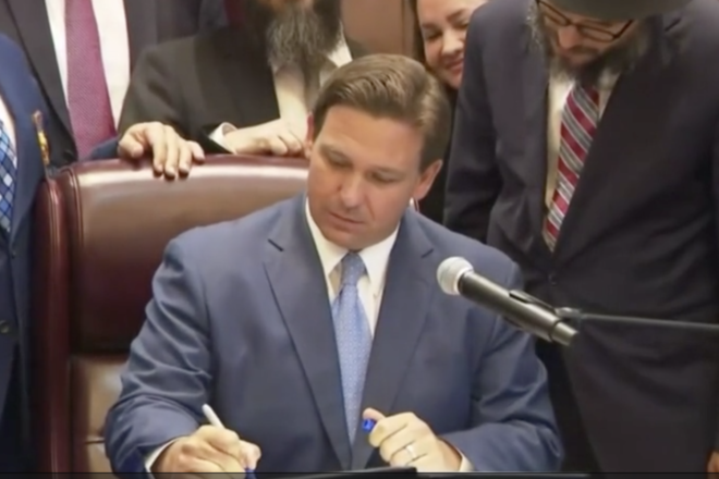 DeSantis Double Downs on Waiving COVID-19 Fines
