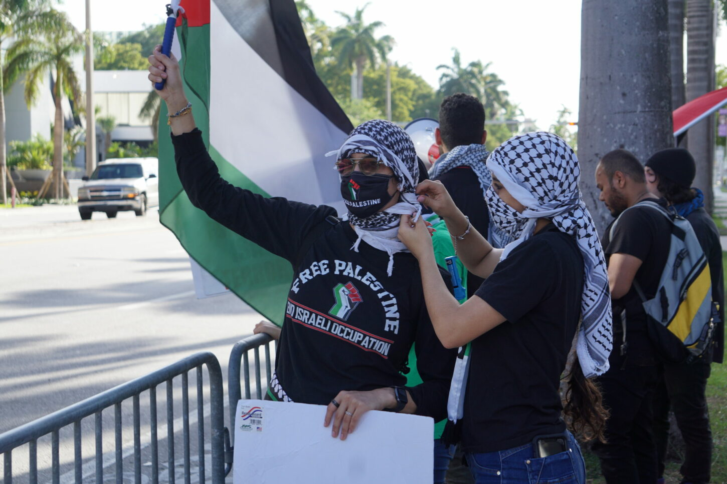 Palestinian-Americans Chant Terror Group Hamas' Call-to-Arms