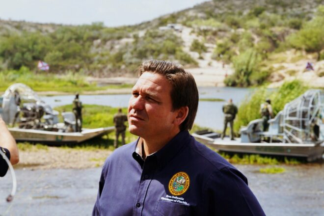 DeSantis Shares Thoughts on Border Briefing
