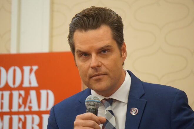 """Gaetz Calls out House Republicans Immigration 'Shills' and 'Sellouts"""""""