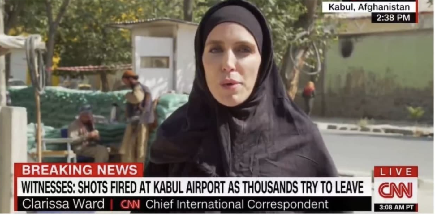 CNN Reporter Quickly Adjusts to Taliban Rule