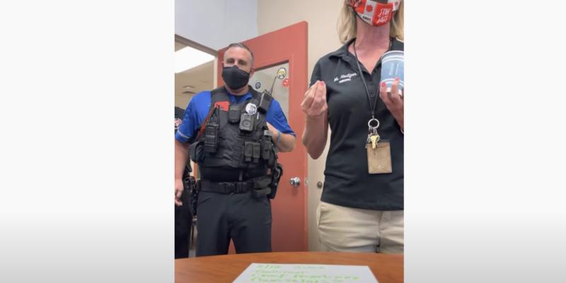 Florida School Denies Teacher Entry Over Mask Mandate, Calls Police [VIDEO]