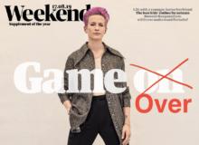 """Trump Skewers """"Purple Hair"""" Megan Rapinoe and 'Woke' Soccer Team After Failed Olympics"""