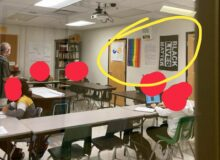 Florida High School Teacher 'Indoctrinating' Students With Black Lives Matter, Pride Flags