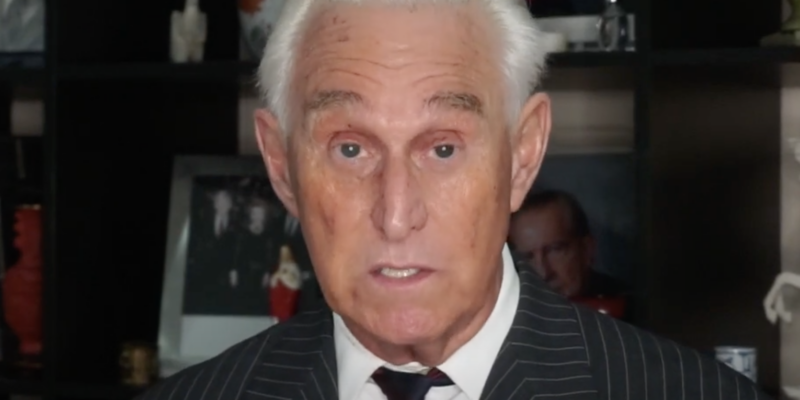 Roger Stone Credits God for Being Spared by Trump in Witch Hunt [Video]